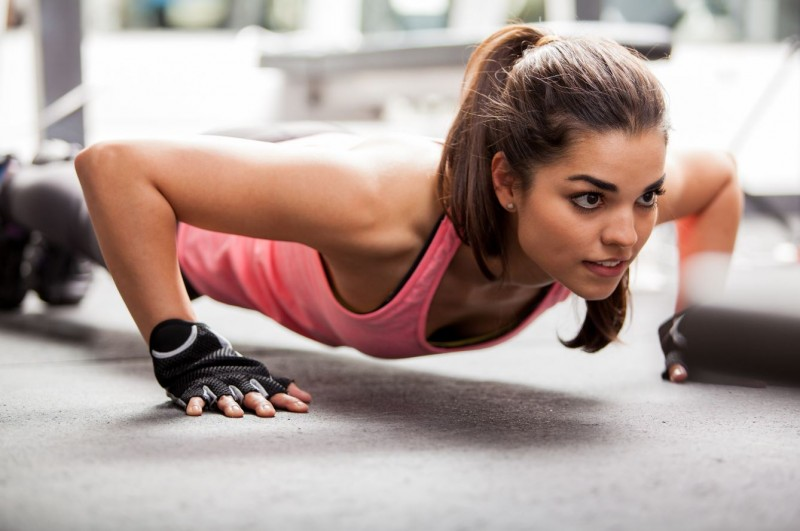 Push-ups Upper Body Workout